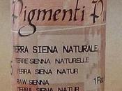 Pigmenti Polvere, Colore Terra Siena Naturale