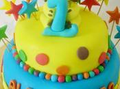 Torta cupcakes leoncino