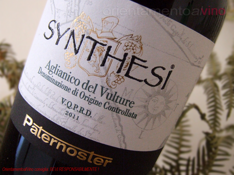 Synthesi Aglianico del Vulture