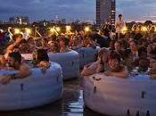 Londra: cinema attico immersi vasca idromassaggio