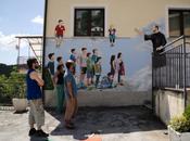 Castronuovo Sant'Andrea: Colori internazionali borgo