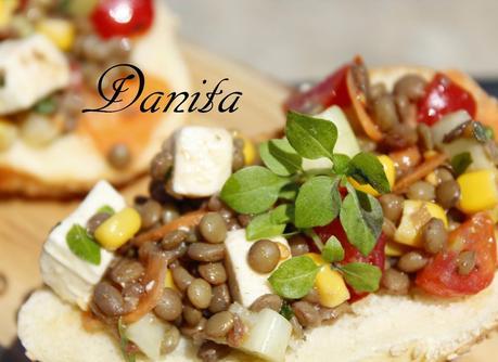 Insalata di lenticchie con feta: pranzo freddo a mare!!! - Paperblog