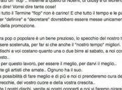 Arisa inacidita tutti, Music Italia Fans Facebook: dire FLOP!