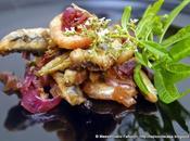 cucina butta niente! fritto misto pesce fresco scapece aromatico mirtilli, cardamomo, cipolla rossa tropea aceto lamponi