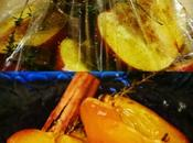 Pesche forno timo cannella