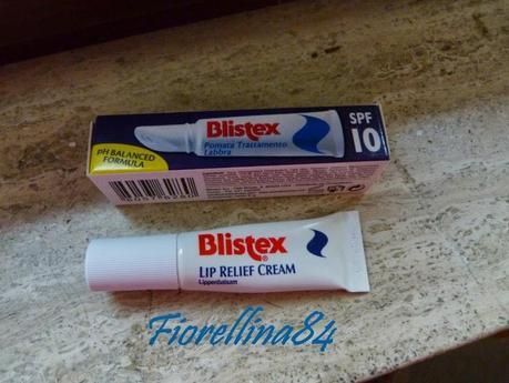 Blistex lip relief cream review