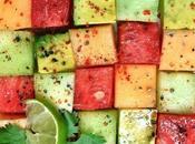 Buon ferragosto antipasto frutta