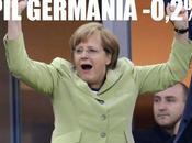 Europa, crisi nera: ferma pure Germania!