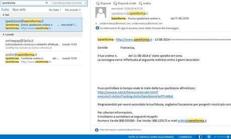 Screenshot Saninforma_Mails