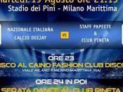 19/8 Nazionale Italiana Calcio Pineta Papeete staff Milano Marittima (Ra) Stadio Pini