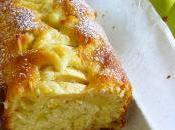 Plumcake, mele cannella