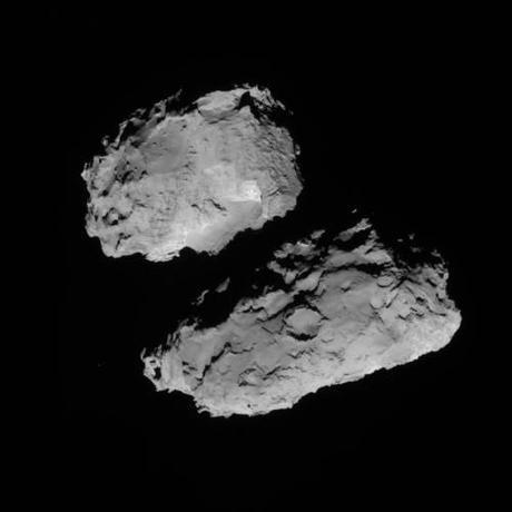 ESA Rosetta 67P 18 agosto 2014