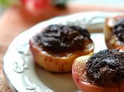 Pesche ripiene alla piemontese Amaretti cocoa stuffed peaches