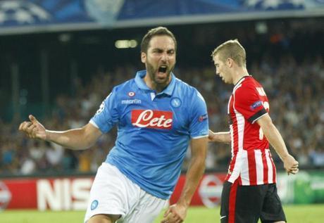 Delusione Napoli, solo un pari contro l'Athletic