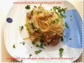Vermicelli vongole veraci pesto asparagi