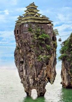 The Rock House | Wallpaper