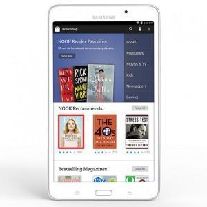 Galaxy Tab 4 Nook 300x300 Galaxy Tab 4 Nook disponibile ufficialmente negli USA a 179$ (video)  tablet