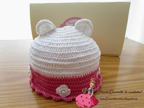 Cappellino Con Orecchie Uncinetto In Cotone Paperblog