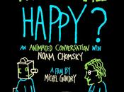 "Docufilm Tall Happy?: Animated Conversation With Noam Chomsky"" Michel Gondry"