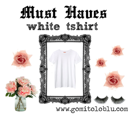 MUST HAVES: WHITE TSHIRT