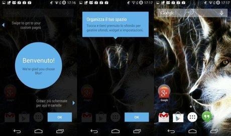 blur 600x355 Blur: un nuovo launcher molto personalizzabile disponibile su Play Store applicazioni  play store google play store blur