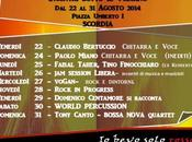 Scordia: orange music festival 22-31 agosto 2014