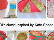 Fashion clutch inspired Kate Spade!