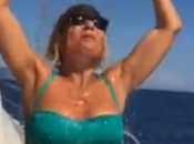 Video dell'Ice Bucket Challange Maria Filippi