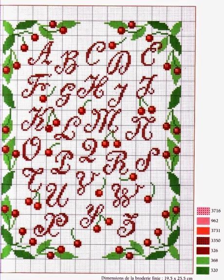 Schemi a punto croce raccolta alfabeti paperblog for Alfabeti a punto croce schemi gratuiti