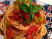Spaghetti pomodoro croccanti