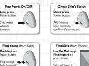 Motorola Skip, accessorio ogni evenienza