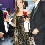 Cristiana Capotondi e Andrea Pezzi - Red carpet Venezia 71