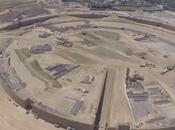 Apple Campus drone mostra lavori corso