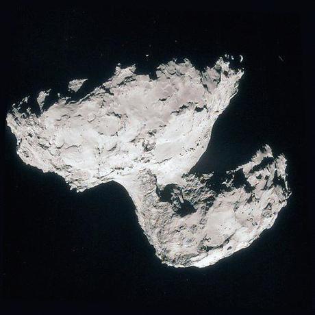 ESA Rosetta: 67P 31 agosto NavCam