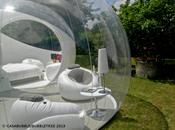 casa vivere immersi nella natura: bolla cristallo