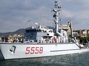 """arrivo nave """"Crotone"""", cacciamine della Marina Militare"""