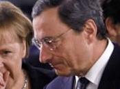 Merkel Draghi come veleno. dell'euro parla