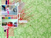 Sfida Amiche Scrap: acquerelli acrilici