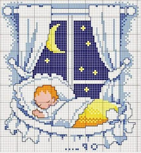 Schemi a punto croce facilissimi dedicati ai bambini for Bambini punto croce schemi
