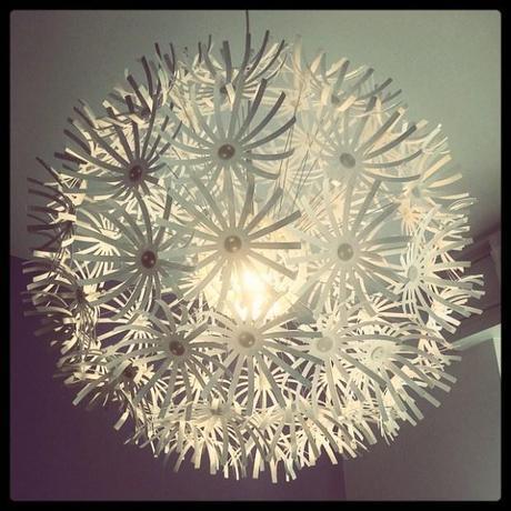 maskros, nel senso del lampadario Ikea - Paperblog