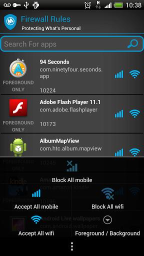 FIREWALL   le migliori applicazioni Android