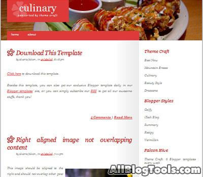 i migliori temi blogger per creare un blog di cucina. - paperblog - Creare Un Blog Di Cucina