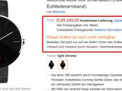 Motorola Moto arrivano preordine Amazon Germania
