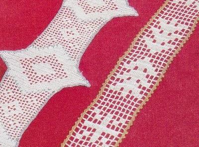 Speciale Natale Schemi Per Il Filet Strisce Natalizie Paperblog