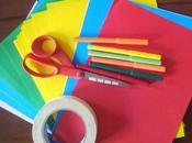 Attività primo giorno scuola Back school: muro colorato classe