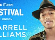 Pharrell Williams settembre all'iTunes Festival!