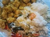 Pollo curry verdure