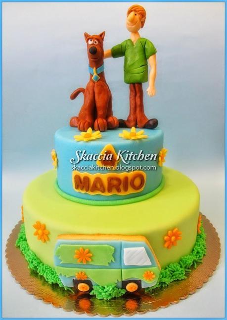 Scooby doo cake paper