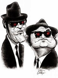 The Blues Brothers-Wallpaper