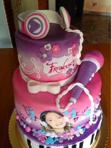 Torta Compleanno Violetta.Torta Di Violetta Per Bimba Di 7anni Paperblog